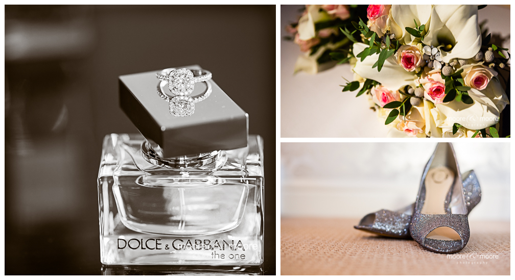 details on your wedding day photographed by moore&moore photography
