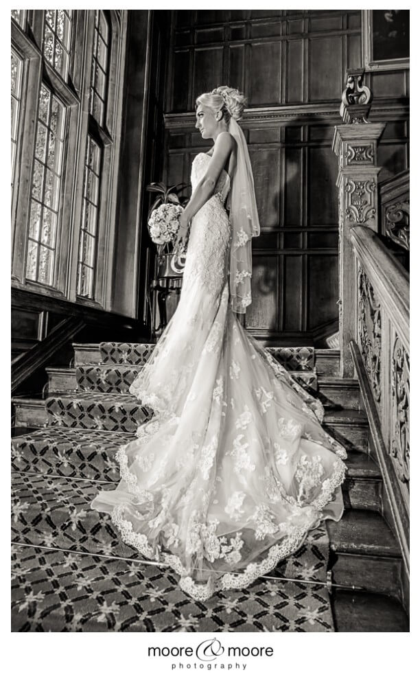 Weddings at Tylney Hall - wedding photography by moore&moore photography