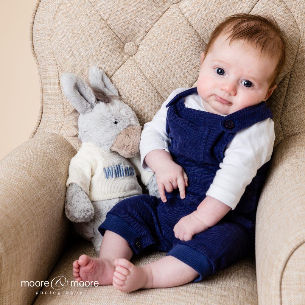 Children's Studio Portrait Photography for families and babies by Hampshire Family Portrait photographers