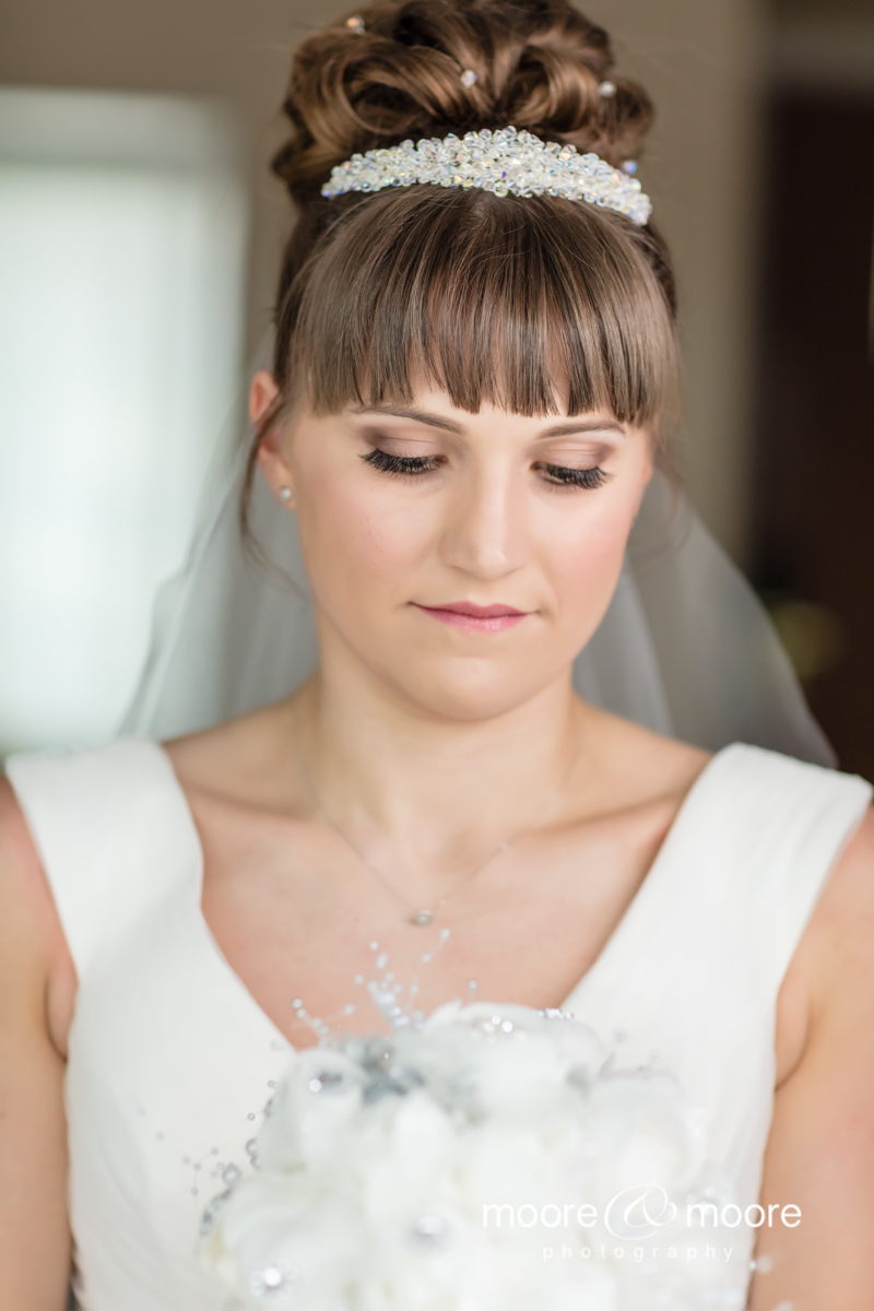 Stunning wedding photography by Helen Moore at moore&moore photography. Photographed at the Hampshire Court Hotel