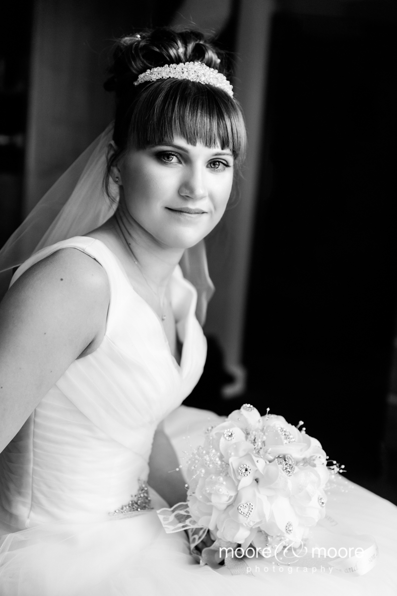 Stunning bridal portrait wedding photography from moore&moore photography. Photographed at the Hampshire Court Hotel