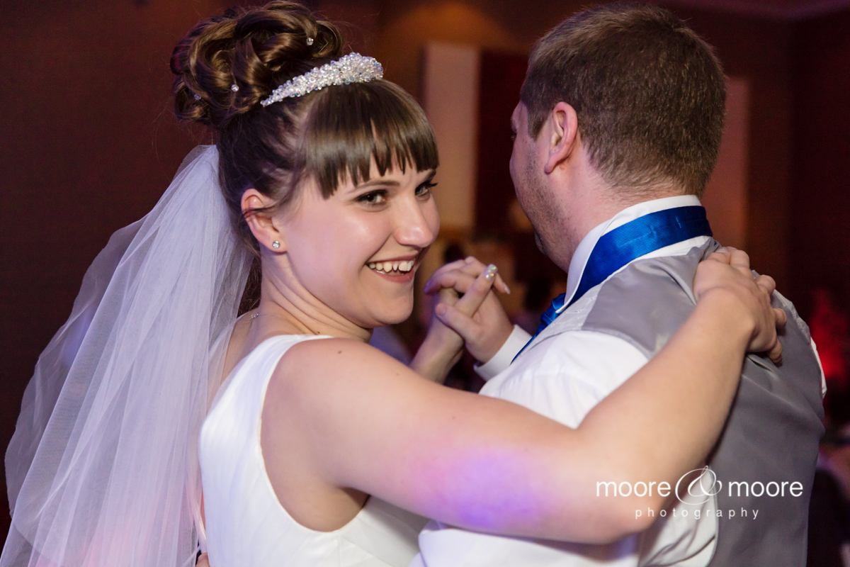 First dance at the Hampshire Court Hotel. Wedding photography by Helen Moore, moore&moore photography
