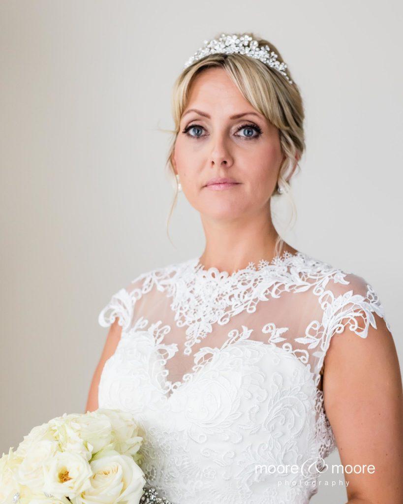 Weddings at the Lismoyne Hotel - bridal portrait by wedding photographer moore&moore photography