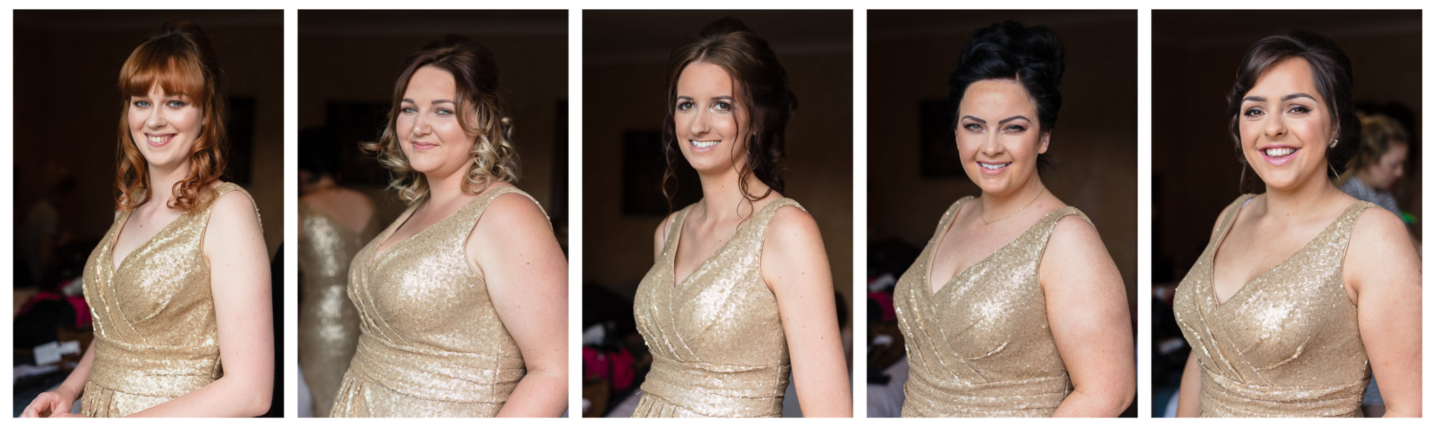 Bridesmaids at Old Thorns Hotel Wedding Photography by moore&moore photography