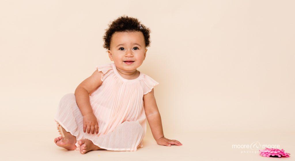 children's portraits - my first birthday photo shoot, hampshire photographer