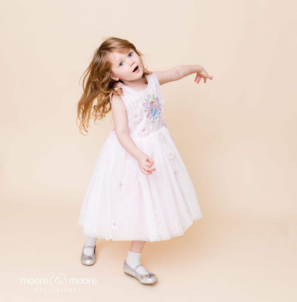 Children's Studio Portrait Photography from family photographer, moore&moore