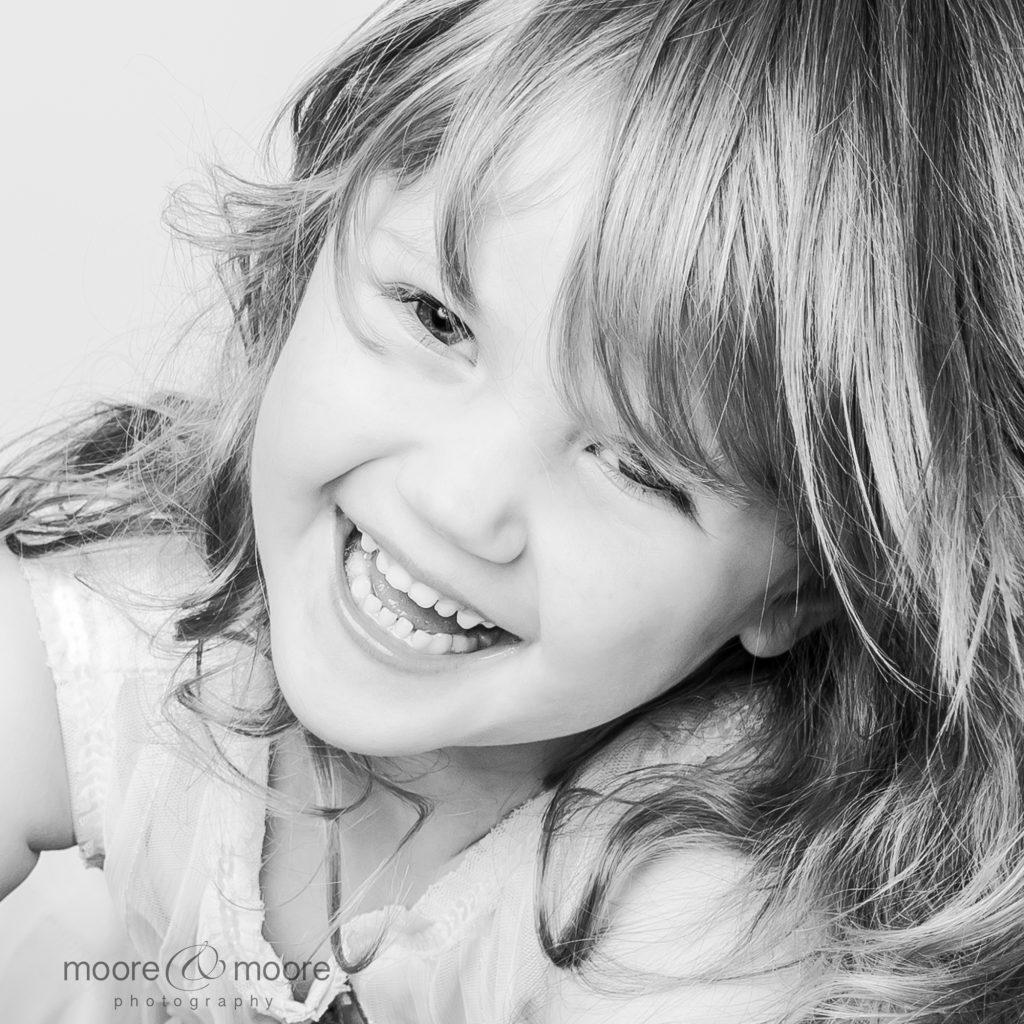 Children's Studio Portrait Photography by children's photographer, Helen Moore, Hampshire Family Photographer