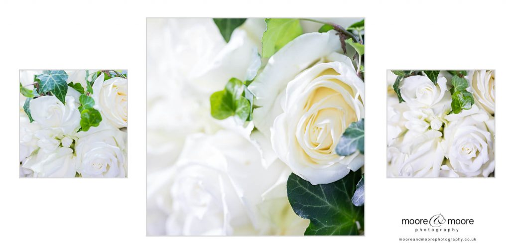 Weddings at Westminster boating base - bride's flowers